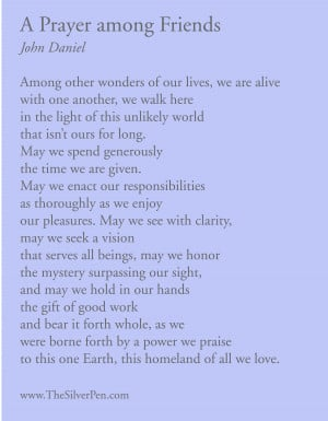 Prayer Quotes for a Friend http://www.thesilverpen.com/2012/11/26 ...