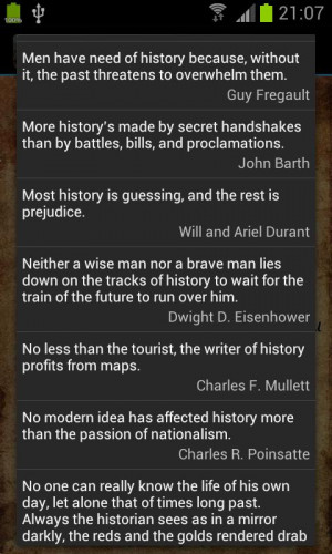 History Quotes - screenshot