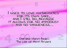 Mathematics Quotes Follow my math quotes board:
