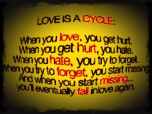 Love Cycle Quotes