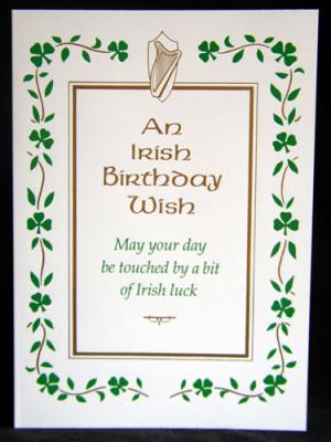 Happy Birthday, Drunken Irishman.