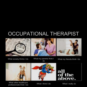 Occupational Therapy Mary Reilly First