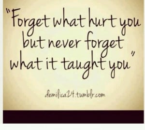 Lessons learned quote!