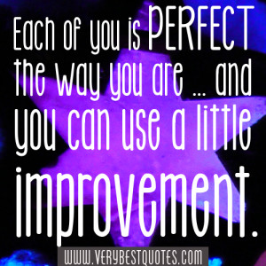you are perfect the way you are quotes