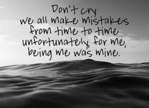 Another sad song- Lower Than Atlantis lyrics