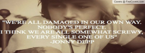 jhonny depp quotes cover