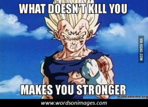 Dragon ball z motivational quotes