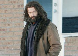 Wolverine Hugh Jackman Set Photos with Beard
