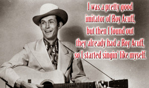 Great Quotes from Country Singers V: Hank Sr., Wynonna, Thomas Rhett