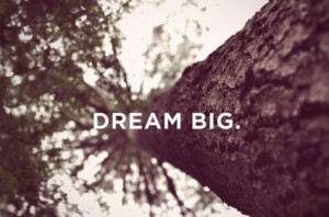 The Importance of Dreaming Big