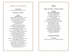 Free Printable Funeral Pamphlets . Free Downloadable Funeral Program ...