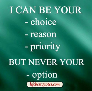 Be Your Choice