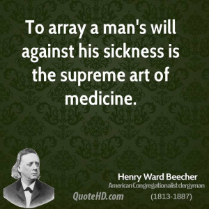 Henry Ward Beecher Art Quotes