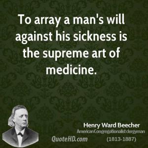 Henry Ward Beecher Art Quotes