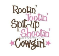 Let there be cowgirls!!!