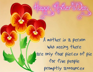 mothers day is a very special day for me and
