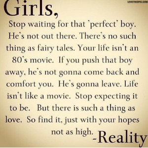 Quotes About Reality Of Love Girls love quotes girl reality