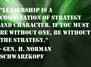 What are some important leadership characteristics?