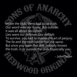 John Teller Quote