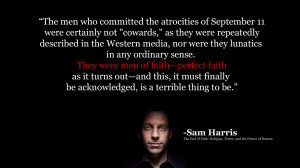 Sam Harris on 9/11
