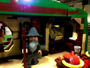 See a Life-Size LEGO Bag End