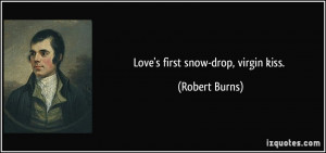 Quotes About First Snow