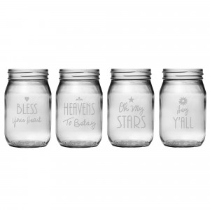 Home > Products > Southern Sayings Mason Jars