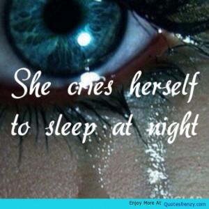 Pain Crying Sad Hurt Heartbroken Quote -