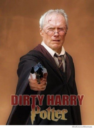 Dirty Harry Potter In the Good The Bad and the Muggly