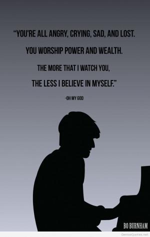 Bo Burnham best 2014 quote
