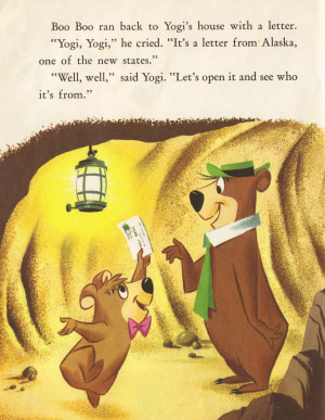Yogi Bear Picnic Basket Quote