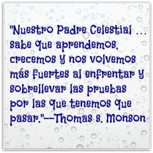 LDS Quote in Spanish Trials