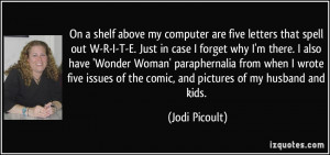 More Jodi Picoult Quotes