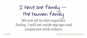 human family family quotes