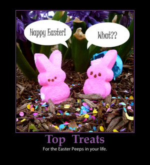 Easter treats-peeps cute-funny