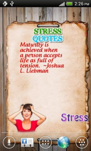 Stress Quotes For Android