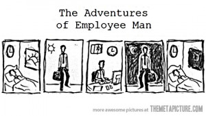 Funny photos funny employee life routine comic