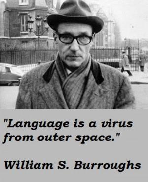 William Burroughs Quote