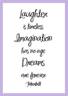 ... Imagination Dreams Tinkerbell Quote // inspirational graduation quotes