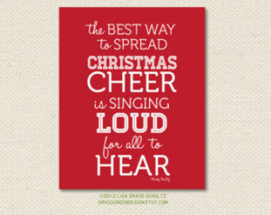 8x10 Buddy The Elf Christmas Cheer Quote Print CLEARANCE ...