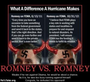 TAGS: romney fema hurricane sandy funny