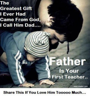 Parents Quotes-father-god-teacher-thoughts-gift