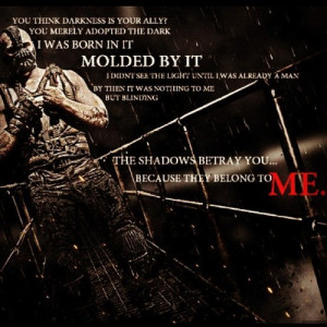 Bane #darkknightrises #Tomhardy #Batman #quotes by waffles_n_brains ...