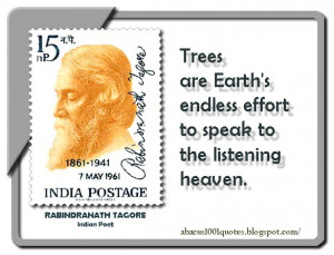 Trees are Earth's endless effort to speak to the listening heaven.