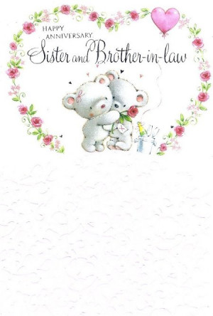 ... Gallery For > Wedding Anniversary Quotes For Sister And Brother In Law