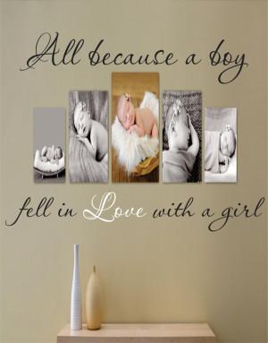 ... Love Quote – Bedroom – Livingroom – Picture Wall. $43.95, via