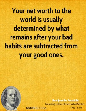 Benjamin Franklin Finance Quotes