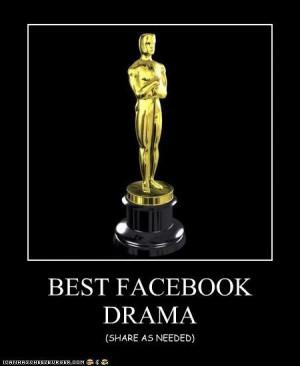 facebook drama