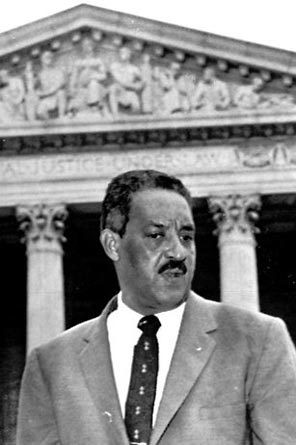 ... Thurgood Marshall, who was born on this date in Baltimore, MD in 1908