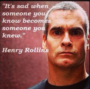 Wisdom by Henry Rollins